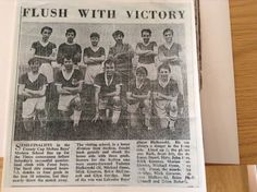 Me back row fifth from right Stuart hare sixth from the right Nottingham Forest, Back Row, Hare, Victorious, The Row, School, Men, Bunny, Rabbit