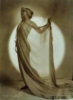 "Ruth St. Denis, ""Greek Veil"", circa 1917-18Photographer: Lou Goodale Bigelow"