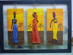 CREACIONES DE SILVIA: Africanas de MARIANA