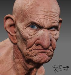 Zbrush artist is amazing! Zbrush, Old Faces, Many Faces, Character Inspiration, Character Design, Old Man Face, Hyperrealistic Art, Face Study, Unique Faces