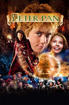 2003 Australian/American/British film, Peter Pan, with Jeremy Sumpter as Peter Pan, Jason Isaacs as Capt. Hook and John Darling and Rachel Hurd-Wood as Wendy Darling, Peter Pan 2003, Peter Pan Film, Jeremy Sumpter, Rachel Hurd Wood, Mary Poppins 1964, Peter Pans, Good Family Films, Great Movies, Amazing Movies