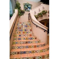 Spanish tiles.  If only more houses were built like this.