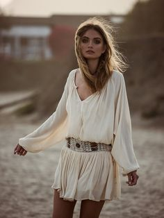 freepeople:  Light my fire.Shop this dress!