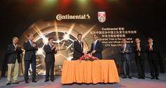 Continental patrocinará a la Asociación China de Fútbol los próximos cuatro años