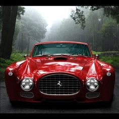 Only 3 ever made F340 Competizione 1952 Mexico Berlineta by Ferrari (via Luxury Experiences)