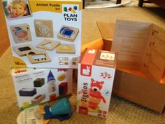 Toddler Box from Little Pnuts - fabulous company