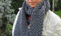 Grey #scarf