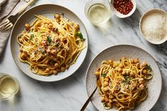 Linguine with Chickpeas recipe on Food52