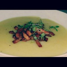 Potato/leek soup