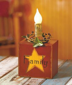 Lighted Sentiment Blocks|The Lakeside Collection