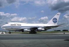 "Pan Am 747, ""Clipper Great Republic."""