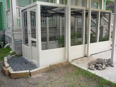 Walk-in aviary, would be great heavily planted for chameleon.