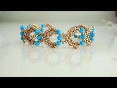 Bead Jewellery, Beaded Jewelry, Jewelery, Beaded Necklace, Beaded Bracelets, Seed Bead Tutorials, Beading Tutorials, Handmade Bracelets, Handmade Jewelry