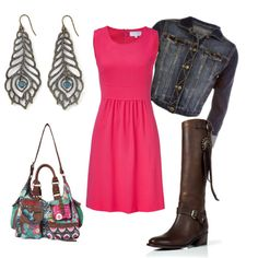 Pink, created by lizzie-boyette on Polyvore