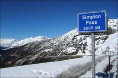 Passo del Sempione (2005 m) - Valico tra Italia e Svizzera