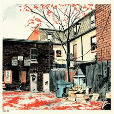 Back Alleys and Urban Landscapes - the Book