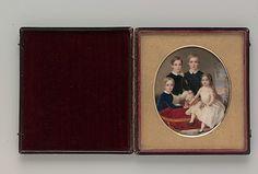The Thompson Children  John Carlin (American, Philadelphia, Pennsylvania 1813–1891 New York City)  Date: 1846