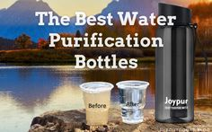 We list and review the 10 best water purification bottles, for hiking and camping, currently on the market. Water Purification, The 10, Water Supply, Drinking Water, Wilderness, Bottles, Hiking, Camping, Good Things