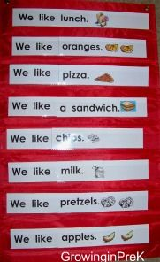 Shared reading printables.