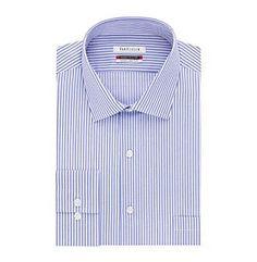 Van Heusen® Men's Striped Spread Flex Collar Dress Shirt