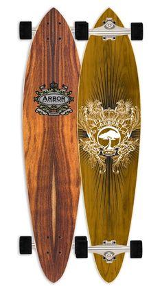arbor fish long board