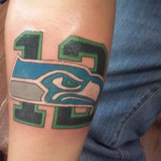 seahawks tatts on pinterest seahawks seattle seahawks and fan tattoo. Black Bedroom Furniture Sets. Home Design Ideas