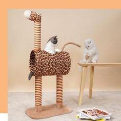 Cat Trees Cheap, Cat Climbing Tree, Cat Tree House, Kinds Of Shapes, Pet Store, Cool Cats, Pet Supplies, Giraffe, Dog Cat
