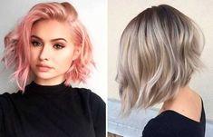 hair dark to light shoulder length Dream Hair, Shoulder Length, Messy Hairstyles, Ombre Hair, Dark Hair, Light In The Dark, Beauty Women, Hair Inspiration, Short Hair Styles