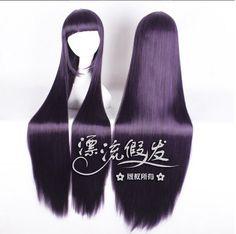 2013 Wholesale cosplay wig 100cm dark purple wave  beauty  kamiki izumo Frederica Bernkastel COS WOMEN girl free shipping $234.50 - 252.00