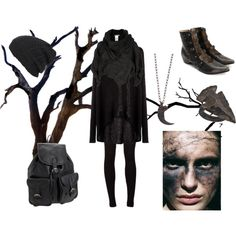 Dark Mori #4, created by grimoire-grotto on Polyvore