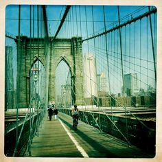 Brooklyn Bridge  hipstamatic