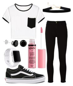 """""""Untitled #25"""" by amolamiavita on Polyvore featuring WithChic, Frame, Vans, Charlotte Russe and Apple"""