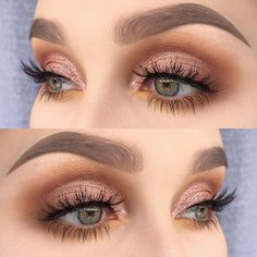Cute Eye Makeup Looks picture 3 - - Cute Eye Makeup Looks picture 3 Beauty Makeup Hacks Ideas Wedding Makeup Looks for Women Makeup Tips Prom Makeup ideas Cut Natural Makeup Halloween Ma. Makeup Hacks, Makeup Inspo, Makeup Inspiration, Makeup Tips, Makeup Ideas, Makeup Tutorials, Makeup Brands, Makeup Stores, Makeup Lessons