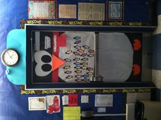 My Chilly Willy/Tacky the Penguin mini-penguins door :) Tacky The Penguin, Penguins, Lunch Box, Teaching, Education, Mini, Projects, Ideas, Log Projects