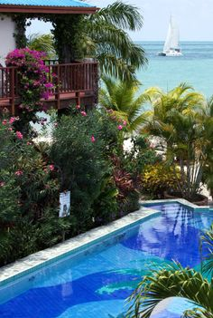 Chabil Mar is a beachfront hideaway at the end Belize's southern Placencia Peninsula.