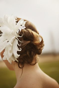 Wedding hairstyle idea - cute image