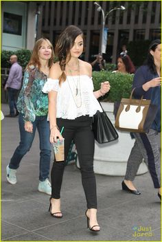 lucy hale road between fox friends interview 05