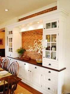 Dining Room Built In Cabinets And Storage Design Farmhouse Dining Room Built Cabinets design Dining Room storage Dining Room Storage, Dining Room Buffet, Dining Room Design, Dining Furniture, Dining Room Cabinets, Kitchen Storage, Furniture Ideas, Furniture Stores, Wine Storage
