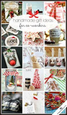 20+ Handmade Gift Ideas for Co-Workers via createcraftlove.com