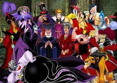 Villians from Disney movies - too much fun!