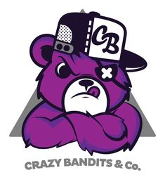 Crazy Bandits & Co. Street Bear by Jason Arroyo , via Behance