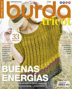 Nueva revista Burda Tricot llena de patrones