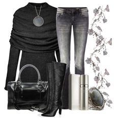 Black&Grey;.OBSESSED with the top - is it Athleta?