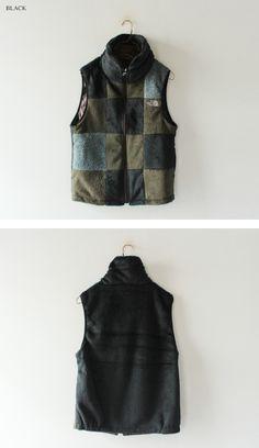 North Face Purple Label - reversible fleece vest.