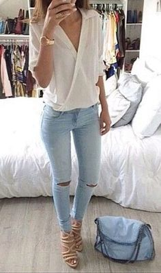 womens fashion spring looks trendy . Spring Look, Spring Summer Fashion, Spring Outfits, Classy Outfits, Chic Outfits, Fashion Outfits, Fashion Shoes, Fashion Mode, Womens Fashion