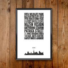 Cork City Print