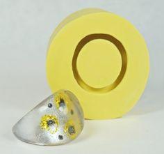 Resin Ring Mold Size6 DE413  Flexible Silicone Mold  by MoldShop, $8.99