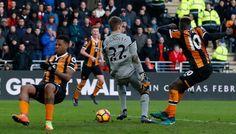 Liverpool a picco, battuto anche dall'Hull di Ranocchia - http://www.contra-ataque.it/2017/02/04/hull-liverpool-ranocchia-premier.html