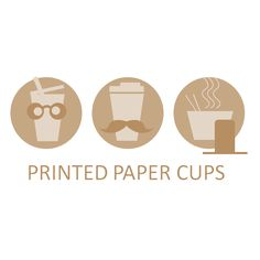 Paper Cups Experts present you with European Quality Printed Paper Cups , 48 hours Express Shipping Option at unbeatable price. Best Quality Printed Coffee Cups at lowest possible price Printed Coffee Cups, Paper Cups, Place Cards, Place Card Holders, Prints