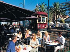 ADELAIDE - Jetty Road is the shopping and dining hub for beachside Glenelg, one of Adelaide's most popular beaches.